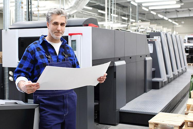 Print-Leistungen Schützdruck Loewe