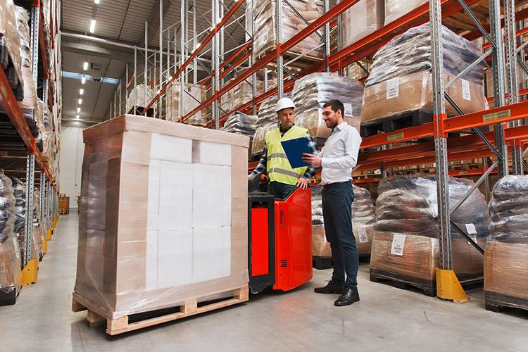 Logistik-Leistungen Schützdruck Loewe